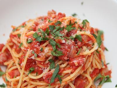 Pasta w/ Mushroom-Sage Olive Oil & Pecorino