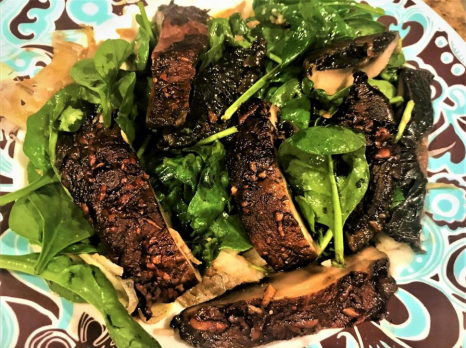 Spinach, Portobello – Sage Salad